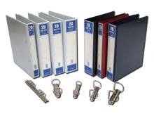 A4 PVC Ring File with Full Transparent